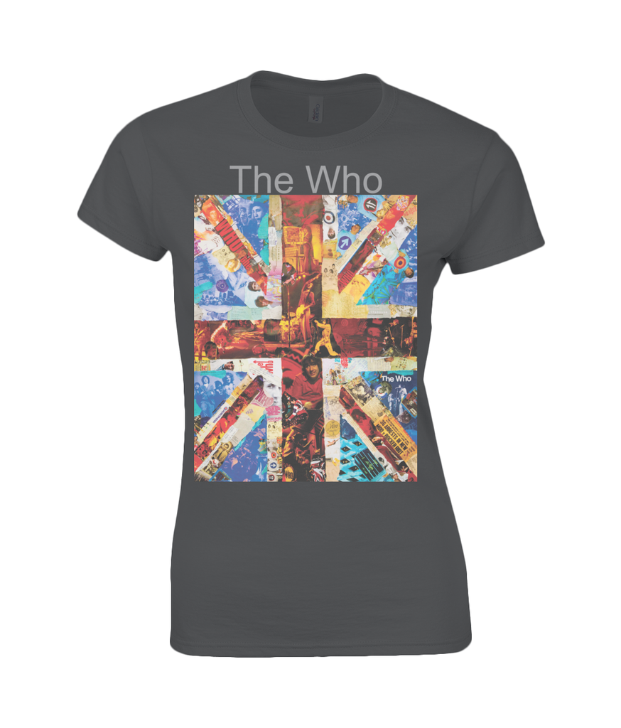 The Who Collage Womens T Shirt