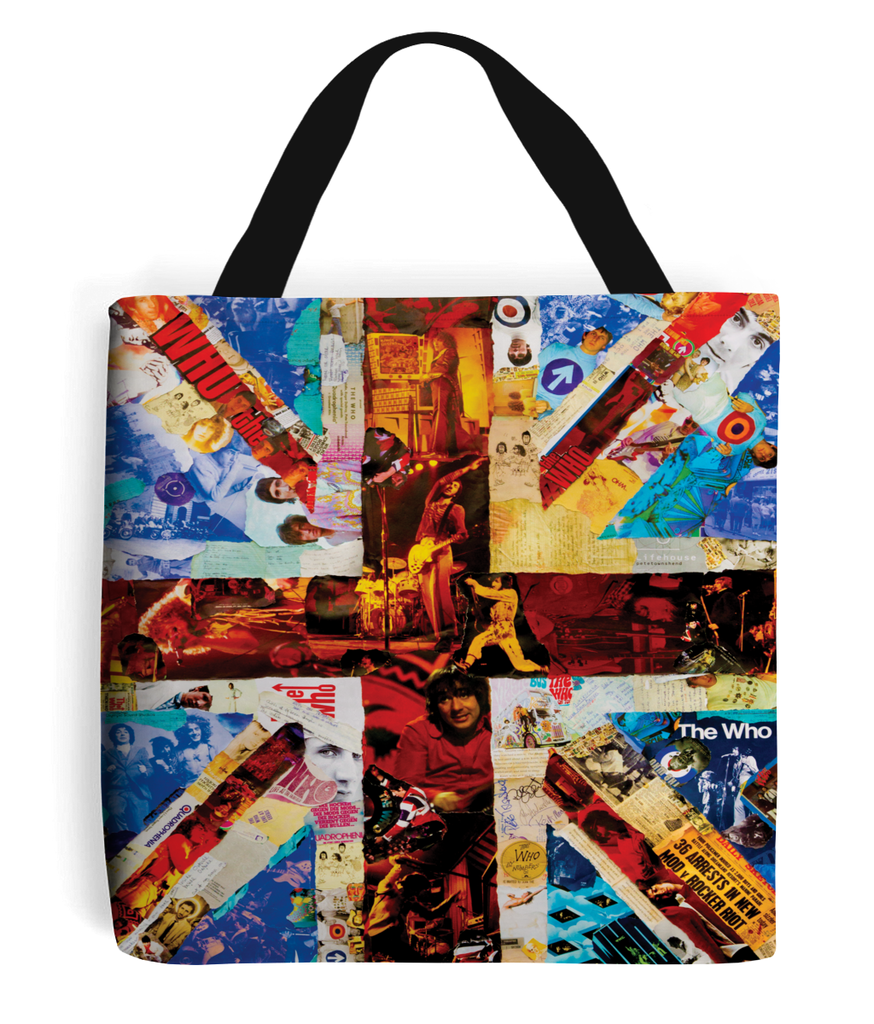 The Who Collage Tote Bag - multymedia