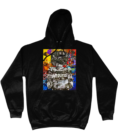 Thin Lizzy Phil Lynott Collage Hoodie - multymedia