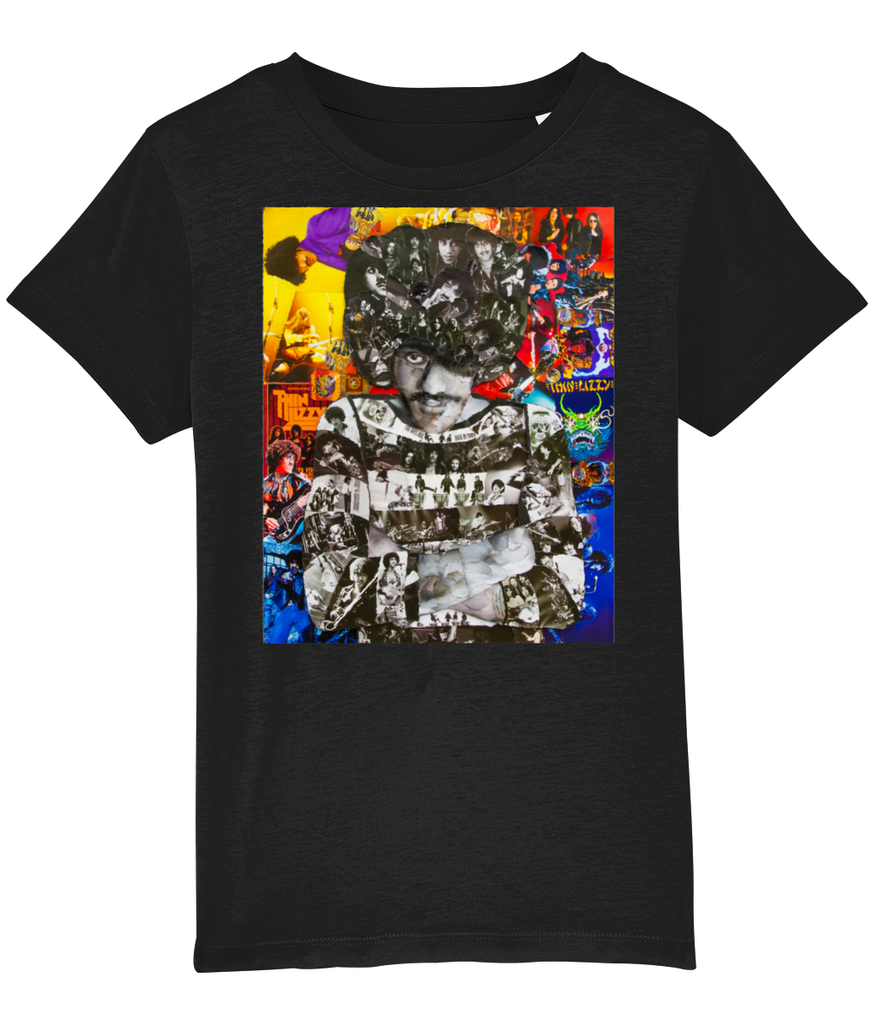Thin Lizzy Collage Kids T-Shirt