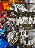 Thin Lizzy Phil Lynott Collage Canvas Print - multymedia