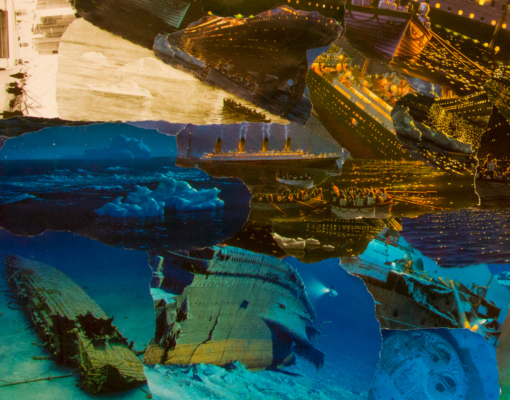 Titanic Collage Giclee Print