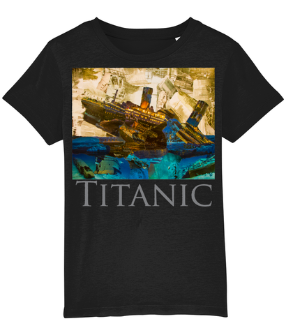 Titanic Collage Kids T-Shirt