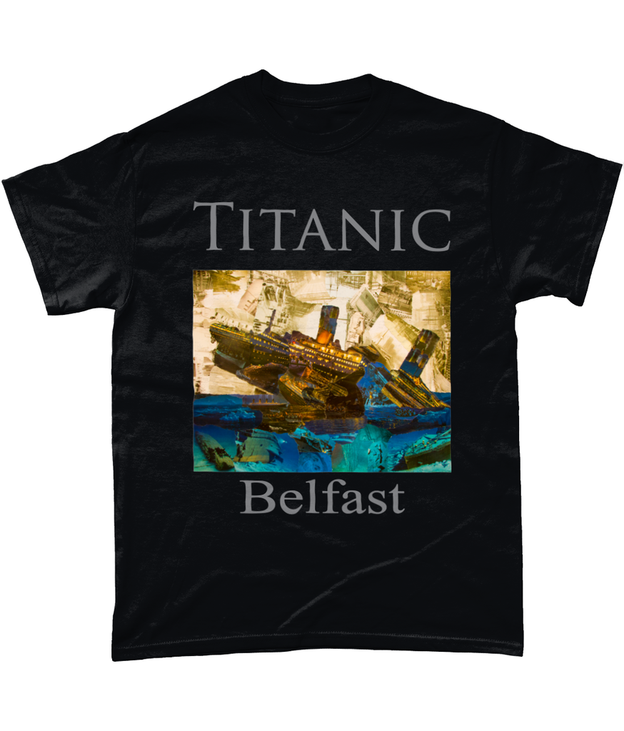 Titanic Collage Short-Sleeve T-Shirt