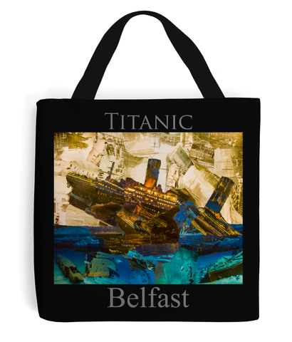 Titanic Collage Tote Bag - multymedia