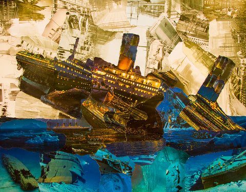 Titanic Collage Poster