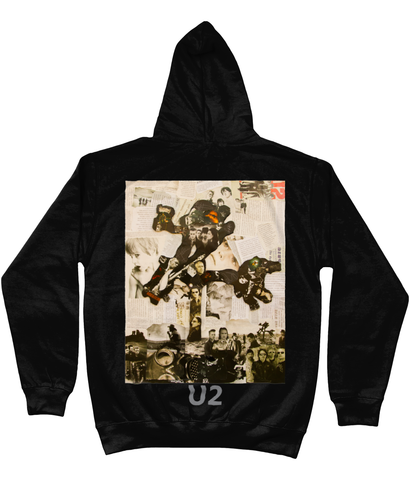 U2 Joshua Tree Collage Hoodie - multymedia