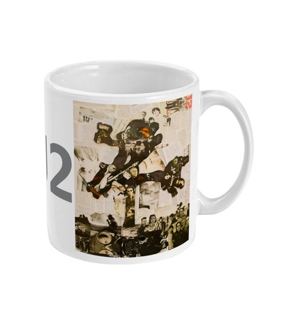 U2 Joshua Tree Collage Mug - multymedia