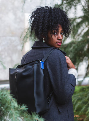 JUDD Luxe Backpack in Black