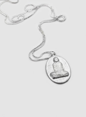 Thai Monk Pendant Necklace