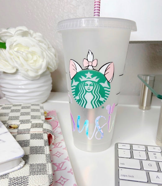 Custom Starbucks Venti Cold Cup
