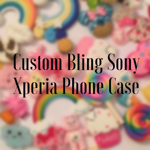 Custom Bling Sony Xperia Phone Case