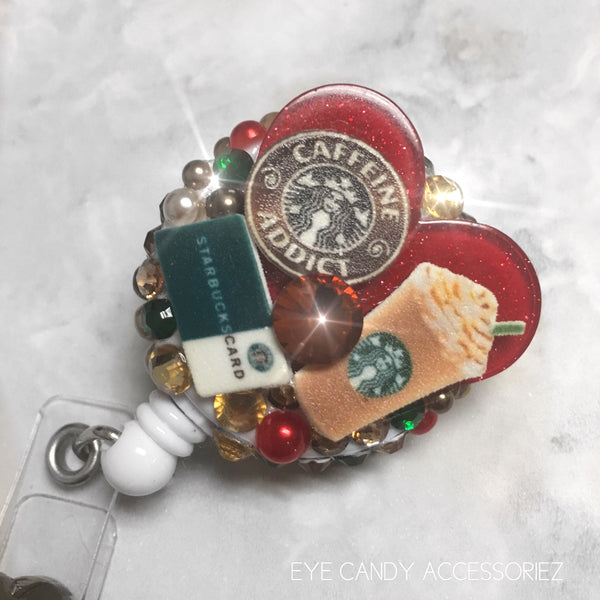 Coffee Lover Badge Reel's & Keychain