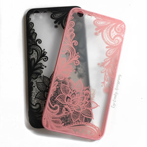 iPhone Henna Flower Case