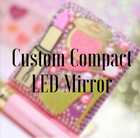 Custom LED Compact Mirror