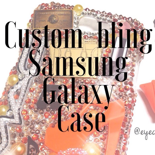 Custom Bling Samsung Galaxy Case