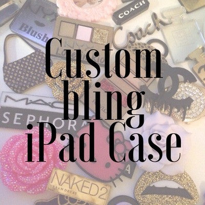 Custom Bling iPad Case