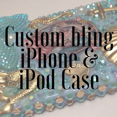Custom Bling iPhone/iPod Case