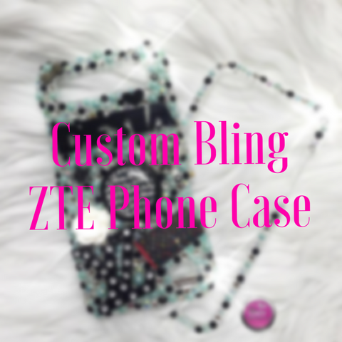Custom Bling ZTE Phone Case
