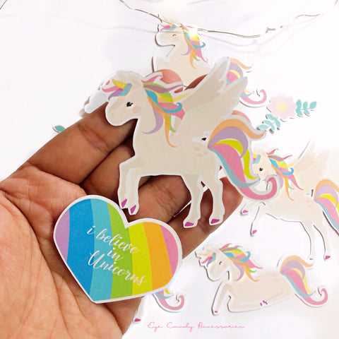Unicorn Die Cuts