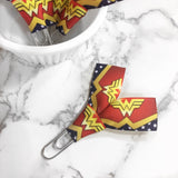 Wonder Woman Ribbon Paper Clip