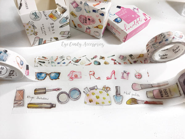 Makeup & Beauty Washi Tape