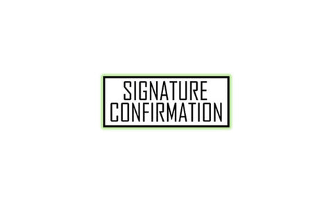 Signature Confirmation (U.S. Only)