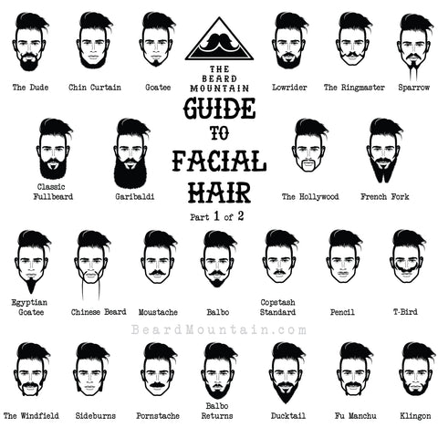 Phenomenal The Beard Mountain Guide To Facial Hair Awesomeness Beard Mountain Natural Hairstyles Runnerswayorg