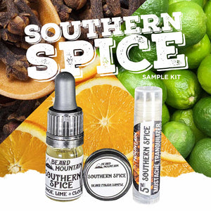 Southern Spice Scent Sample Kit - Beard Mountain