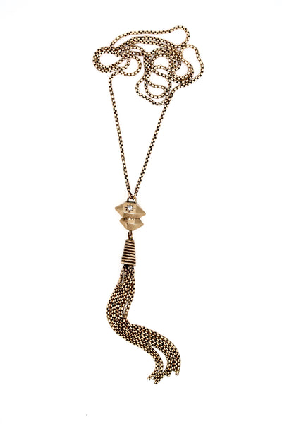 herkimer tassle necklace
