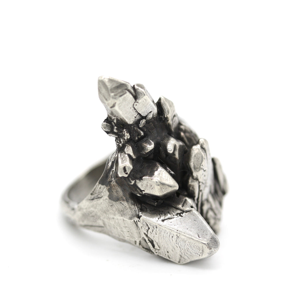 men's crystal ring