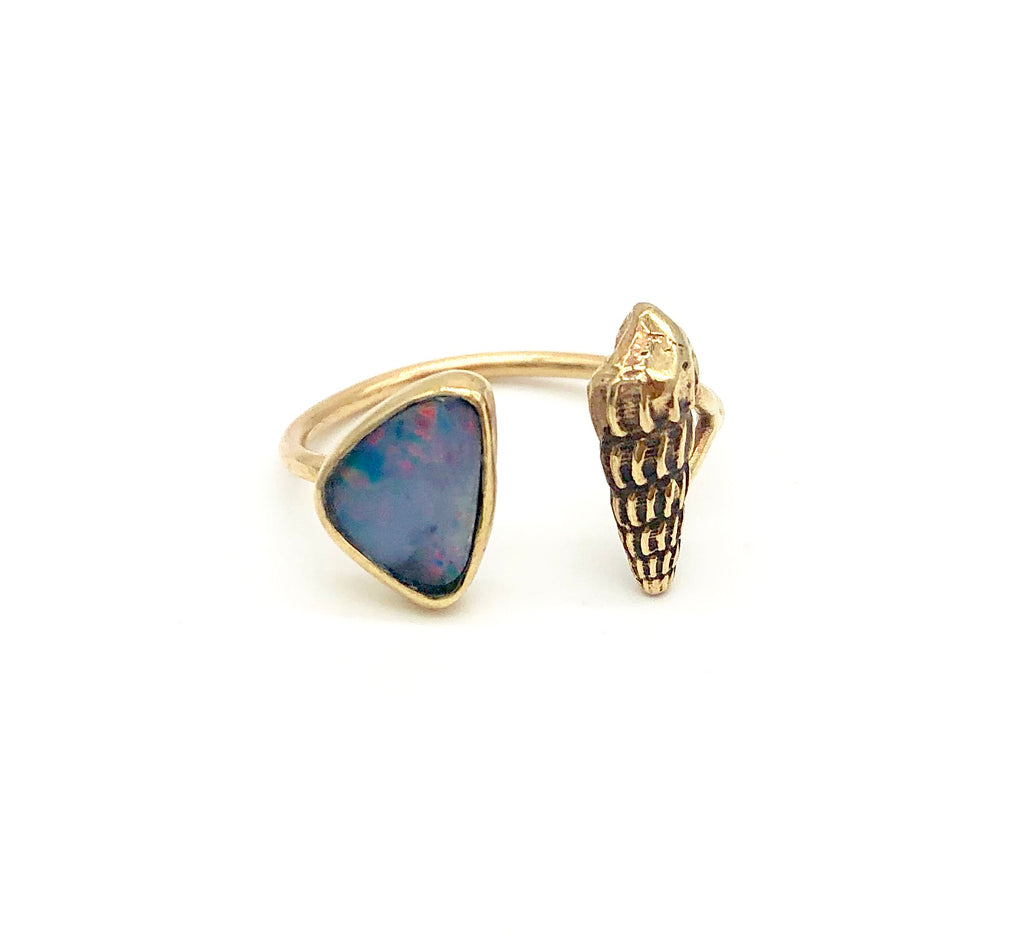 open cone shell ring