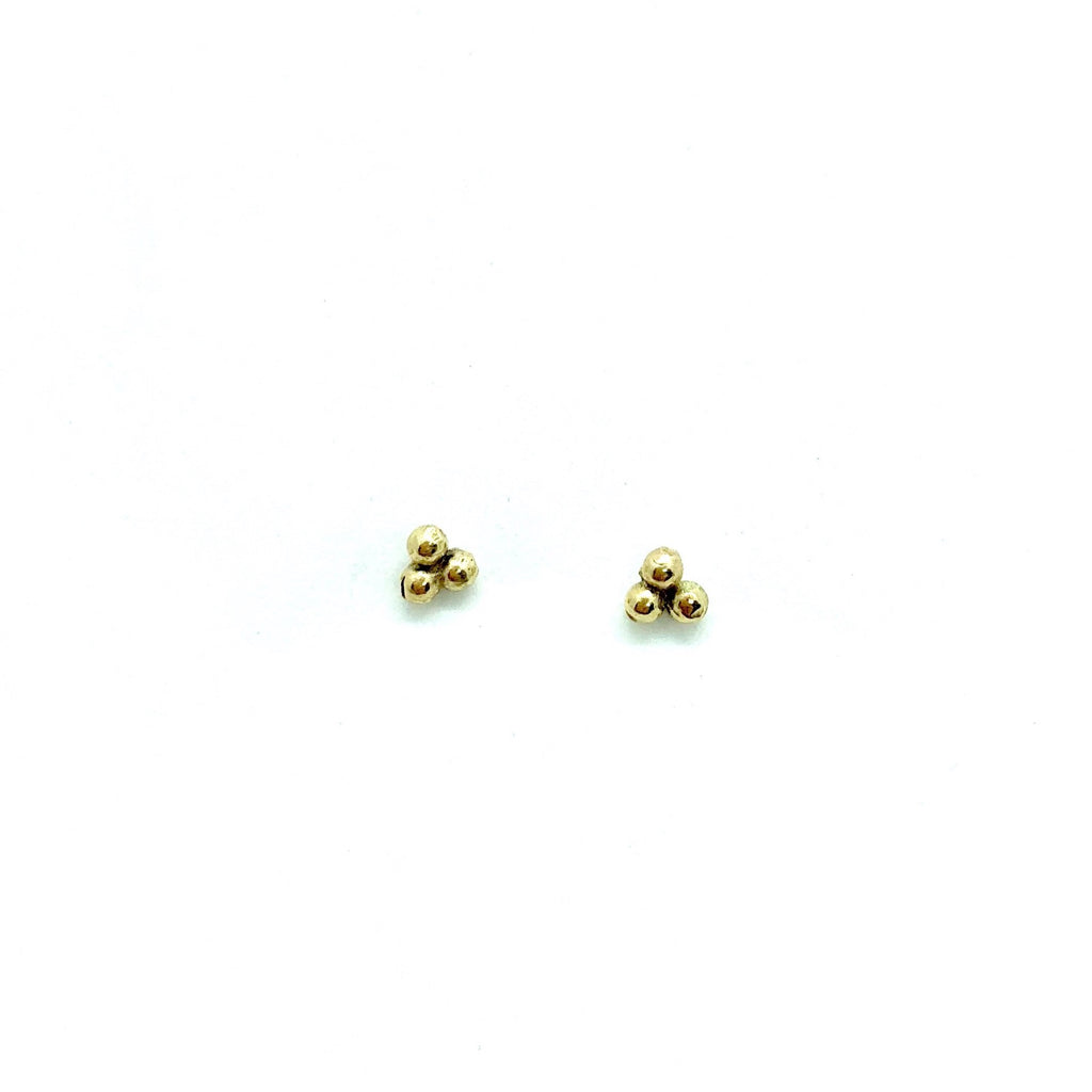 triple bead stud