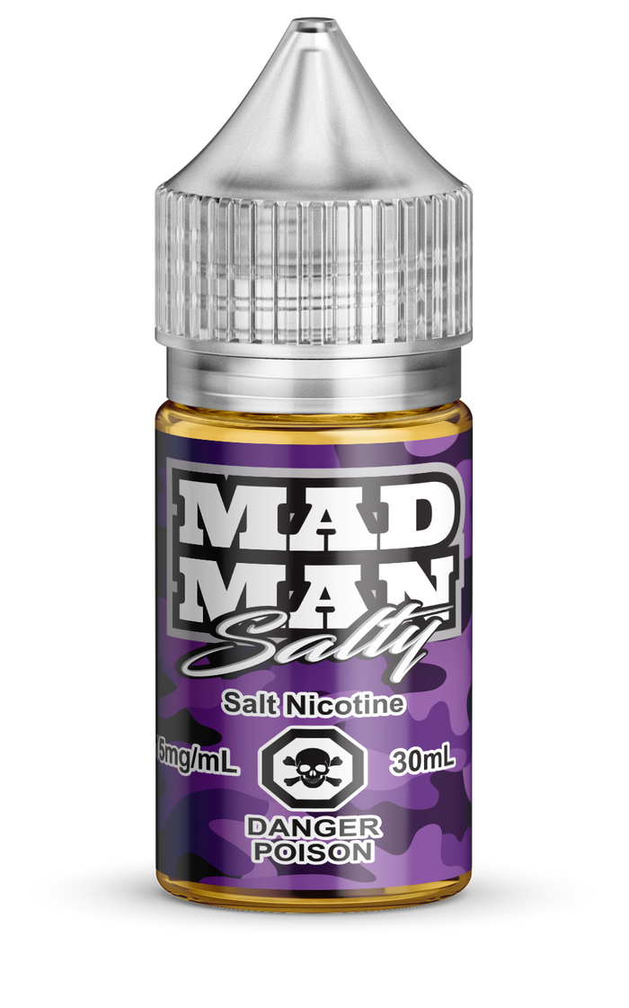 MAD MAN- CRAZY GRAPE SALTS 30ML