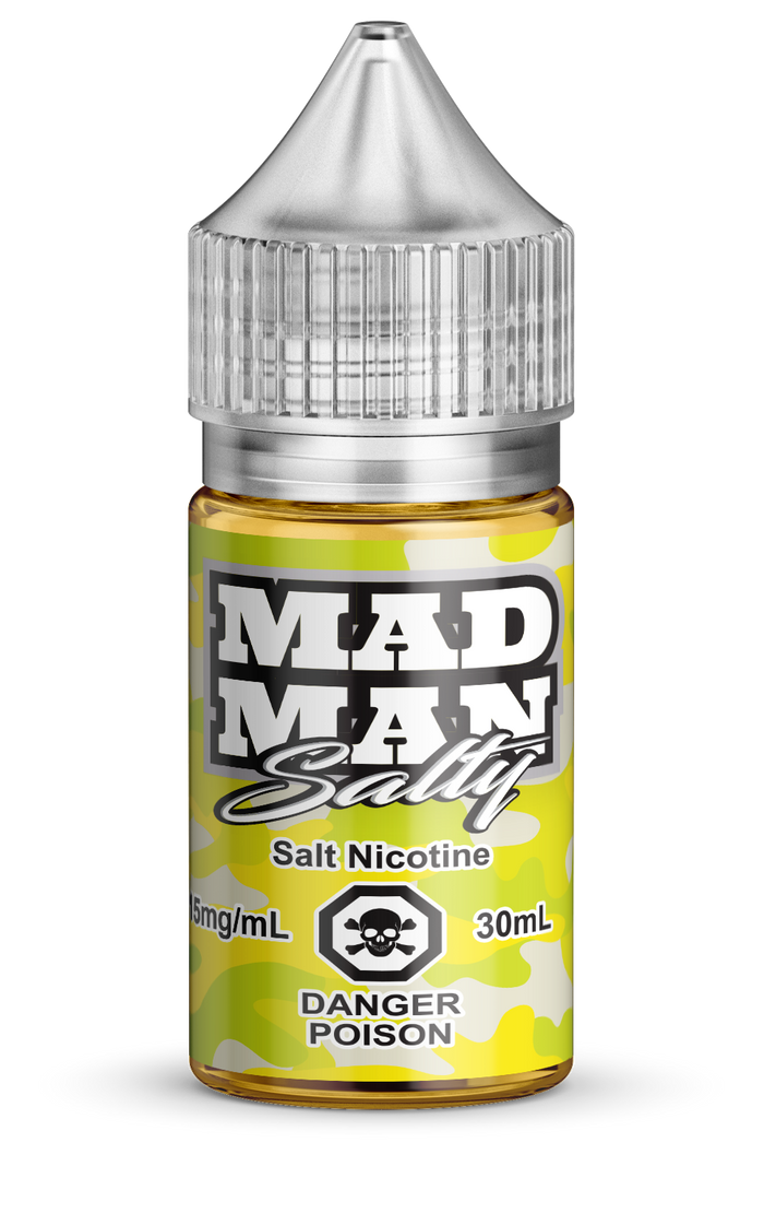 MAD MAN- CRAZY LEMON SALTS 30ML