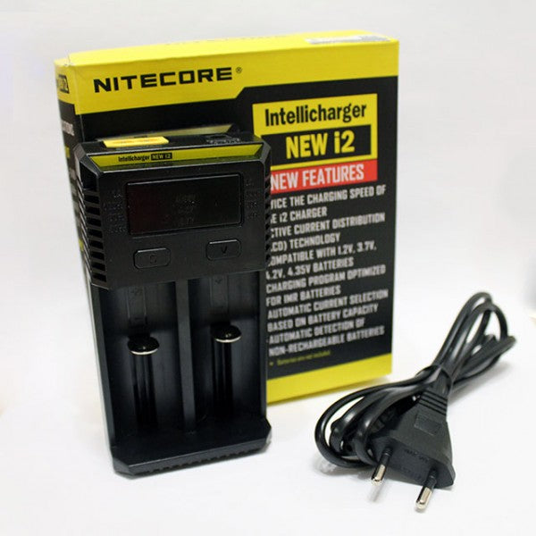 NITECORE i2 CHARGER ( New Features )