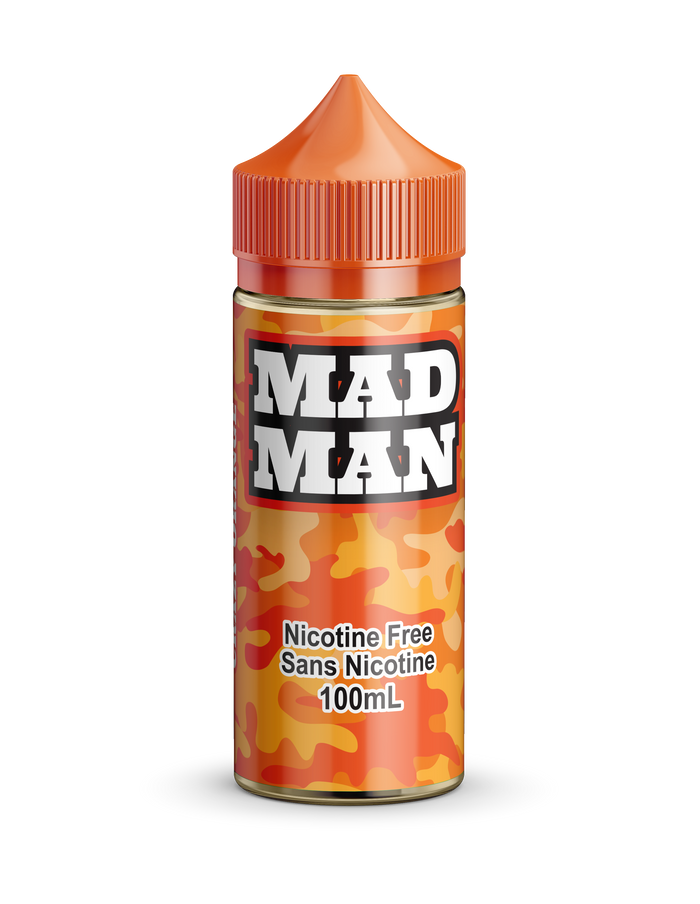 MAD MAN- CRAZY ORANGE 100ML