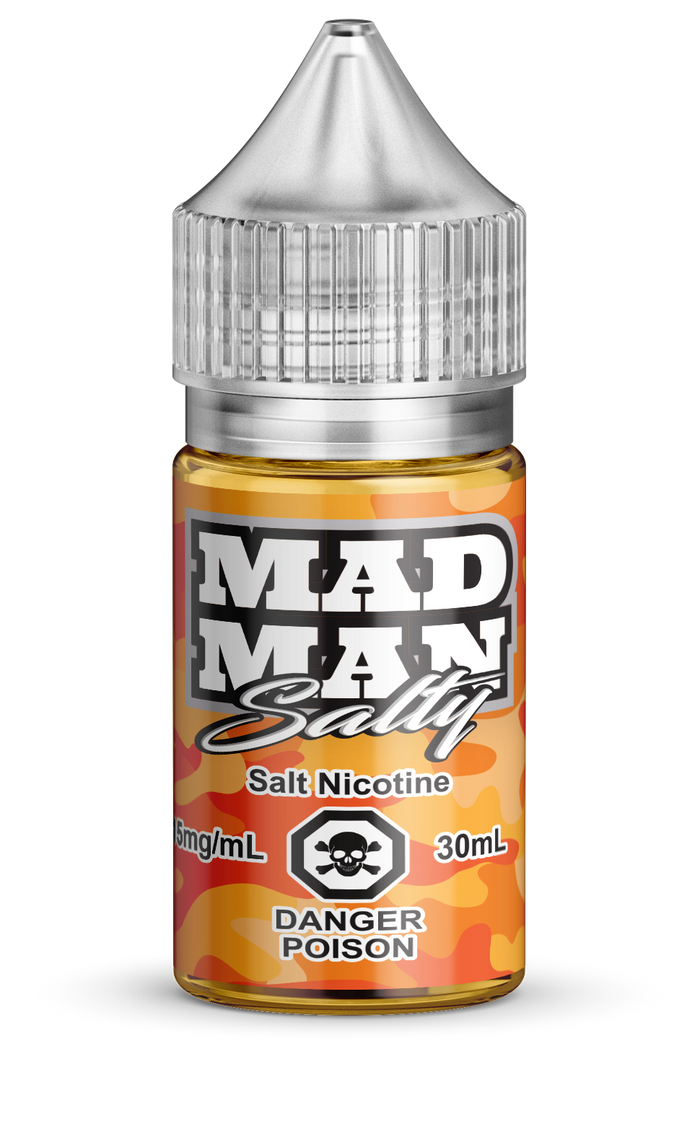 MAD MAN- CRAZY ORANGE SALTS 30ML