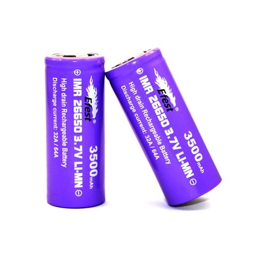 EFEST 26650 Purple 3500mah