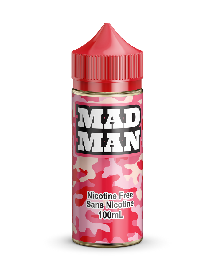 MAD MAN-CRAZY STRAWBERRY 100ML