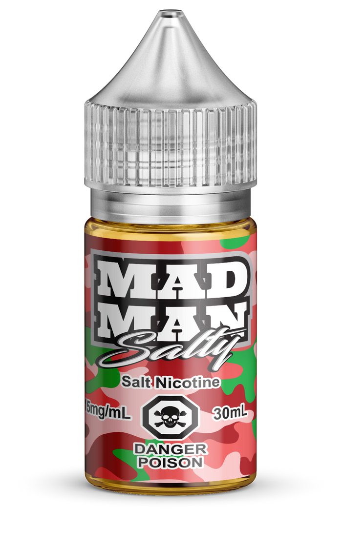 MAD MAN- CRAZY WATERMELON SALTS 30ML