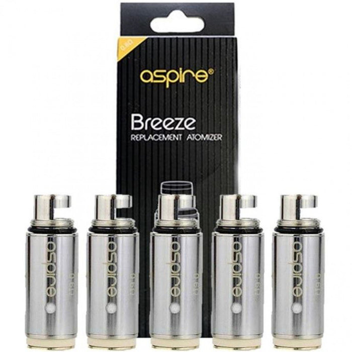 ASPIRE BREEZE COILS ( 5 PACK )