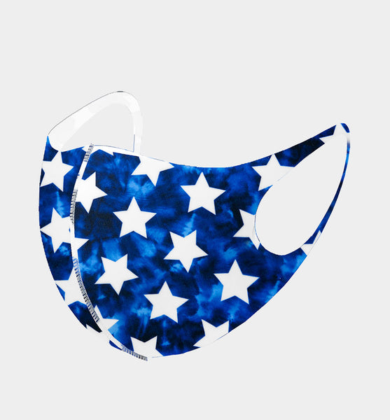 Fashion Star Pattern Print Mask