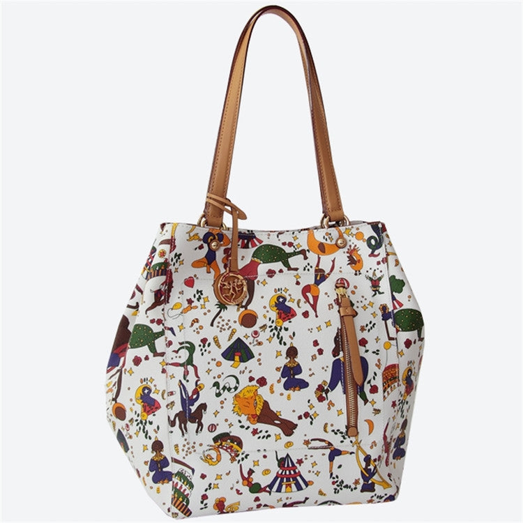 Piero Guidi Magic Circus - 9 x 12 x 8 in. Large Tote