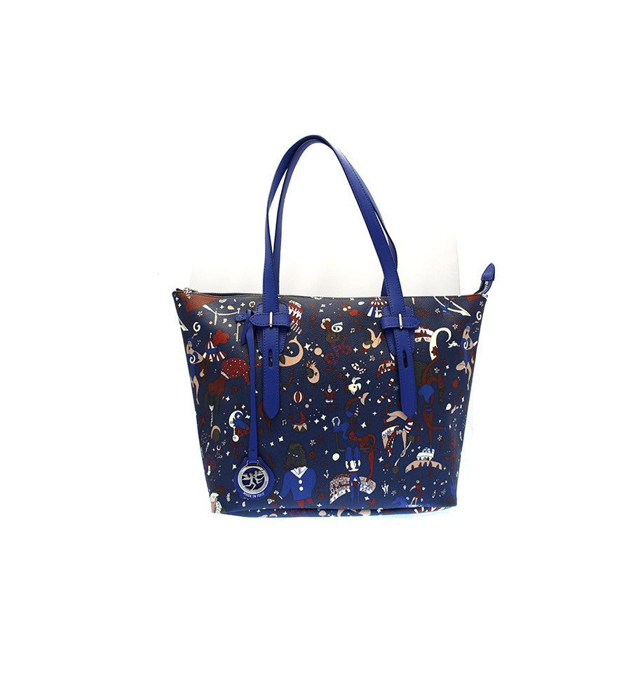 Piero Guidi Magic Circus - Blue Tote 10 x 9 x 5