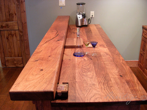 Heritage Mesquite Bar Counter Tops