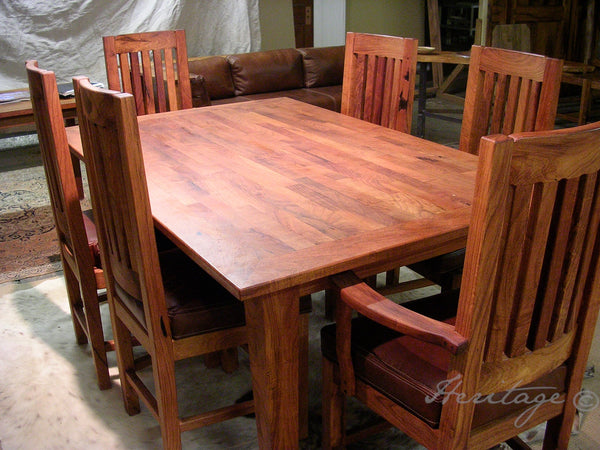 Heritage Mesquite table and chairs