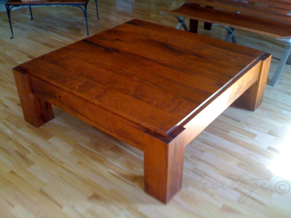 Heritage Mesquite Square Coffee Table