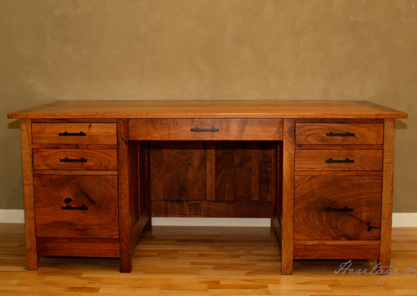 Heritage Mesquite Executives Desk Drawer Fronts