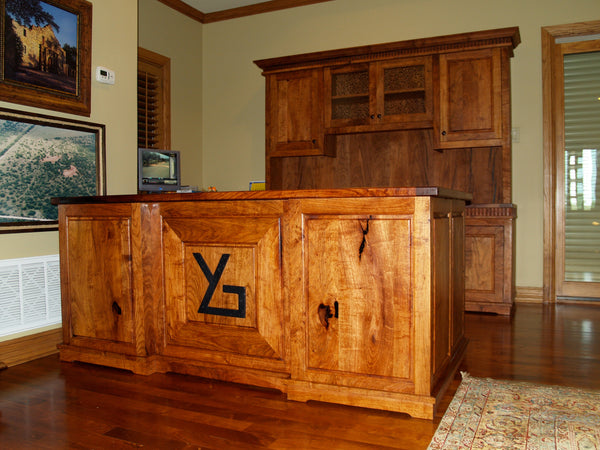 Heritage Ranchers Desk and Credenza